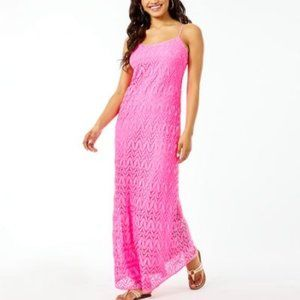 NWT Lilly Pulitzer Avalon Maxi Dress Prose…